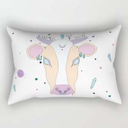 Cosmic Cow Rectangular Pillow