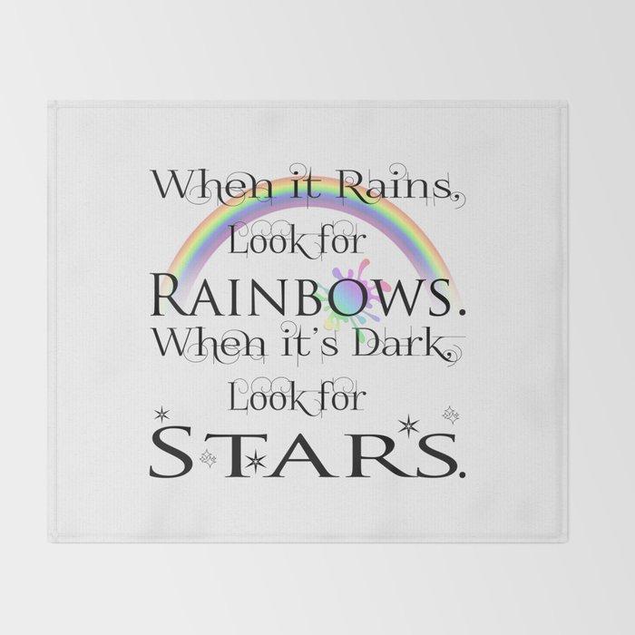 When it Rains... Throw Blanket