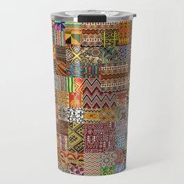 Ethnic Patterns Travel Mug