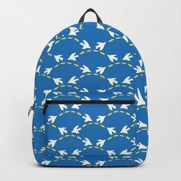 Geometrical Matisse's birds Backpack