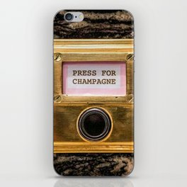 Champers iPhone Skin
