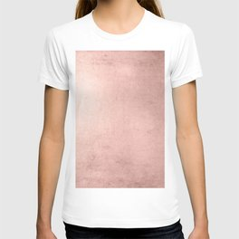Blush Rose Gold Ombre T-shirt
