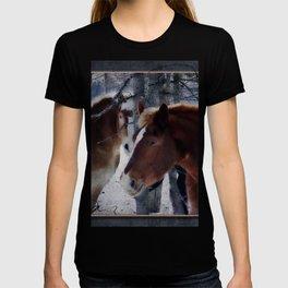 Mackinaw Island Horses T-shirt