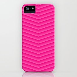 Blush Pink Chevron iPhone Case