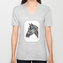 Affirmed (US) Thoroughbred Stallion Unisex V-Neck