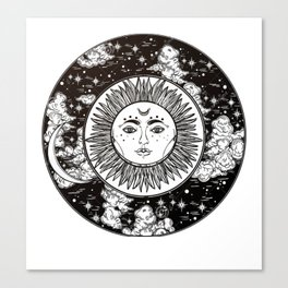 Moon. Canvas Print