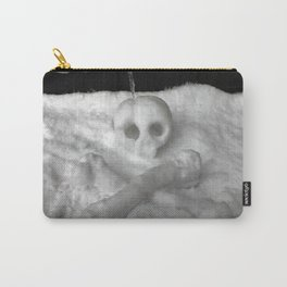 Snow Skull Carry-All Pouch