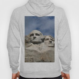 George Washington And Thomas Jefferson  - Mount Rushmore Hoody