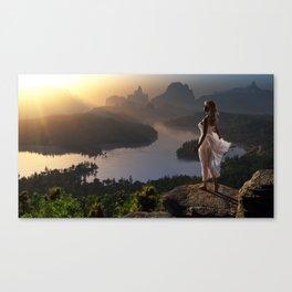 The Sun Priestess. Canvas Print