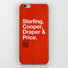Mad Men   Sterling, Cooper, Draper & Price iPhone Skin