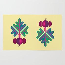 Vegetable: Beetroot Rug