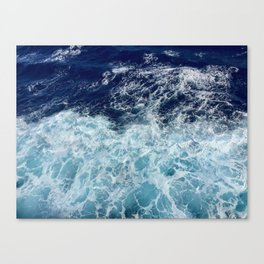 Deep Blue Sea Canvas Print