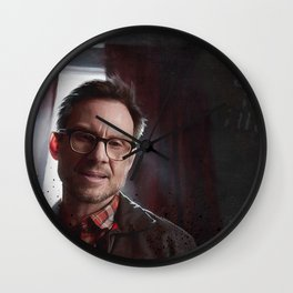 Control Is An Illusion - F Society - Mr Robot Wall Clock