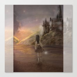 Hogwarts is our home Canvas Print
