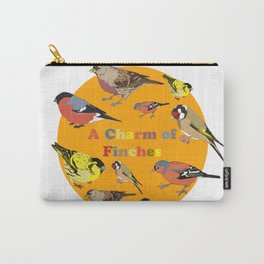 Charm of Finches Carry-All Pouch