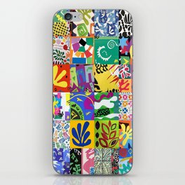 Henri Matisse Montage iPhone Skin