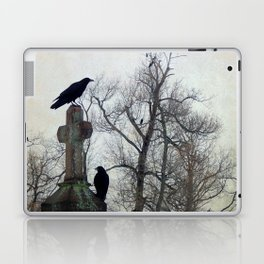 A Gathring Of Crows Laptop & iPad Skin