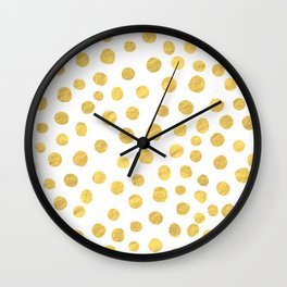 DOT PATTERN Wall Clock