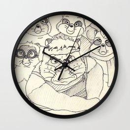 Pom Poko Wall Clock