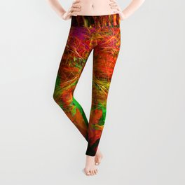 The Flying Shaman (Tribal Zest) Leggings