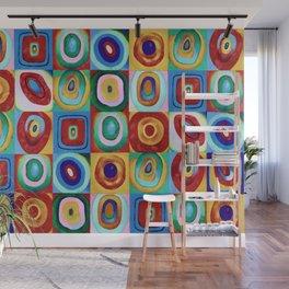 Colorful circles tile Wall Mural