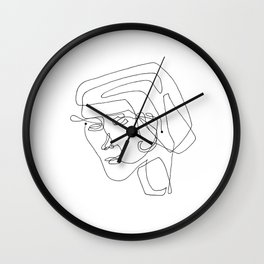 continuous #1 Wall Clock