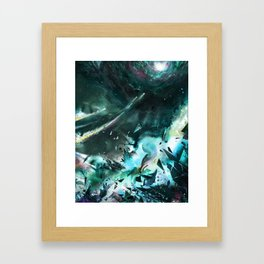 Bursting into Dream Realm Framed Art Print