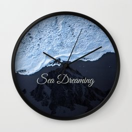 Sea Dreaming Wall Clock