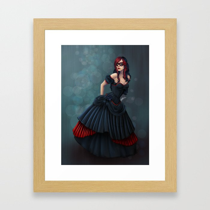 Dress Her Up In Fairy Tales Framed Art Print