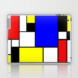 Mondrian Style Laptop & iPad Skin