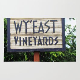 Wy'East - Sign Rug