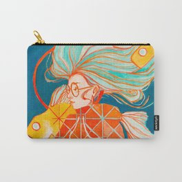 Fire Ring in Pisces Carry-All Pouch