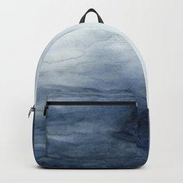 Indigo Abstract Painting   No.2 Backpack