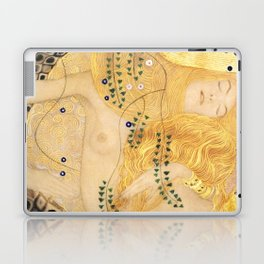 Water Serpents - Gustav Klimt Laptop & iPad Skin