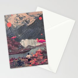 My Choices left me Alone Stationery Cards