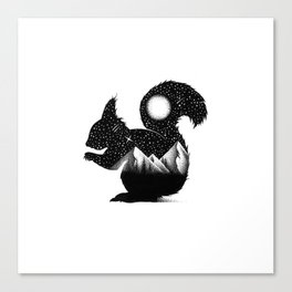 THE SQUIRREL Canvas Print