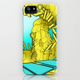 AUTOMATIC WORM 1 iPhone Case