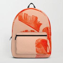 Coral Banana Plant Backpack