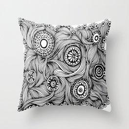 Bellis Veris Throw Pillow