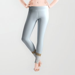 Duck egg blue marble Leggings