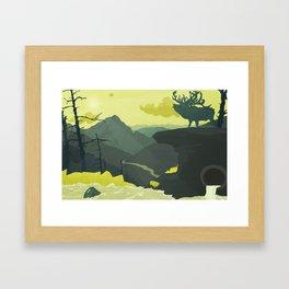 The Abandoned Frontier Framed Art Print