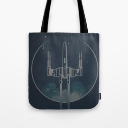 X Wings Fighter Tote Bag