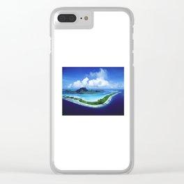 Bora Bora Clear iPhone Case