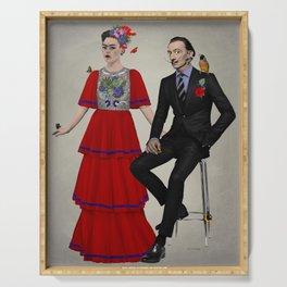 Frida & Dalí Serving Tray