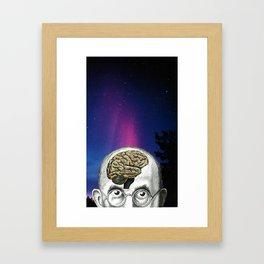 Gothic Brain Framed Art Print