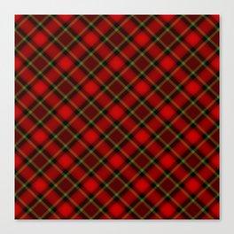 Scottish Fabric Canvas Print