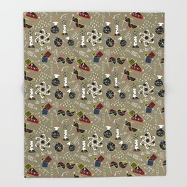 Science Throw Blanket
