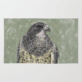 Black-chested buzzard-eagle (Geranoaetus melanoleucus) Rug