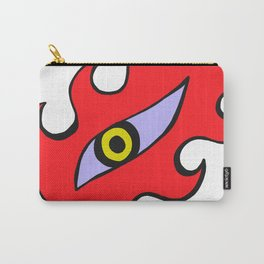 Flaming Eye Carry-All Pouch
