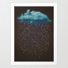 Let It Fall Art Print